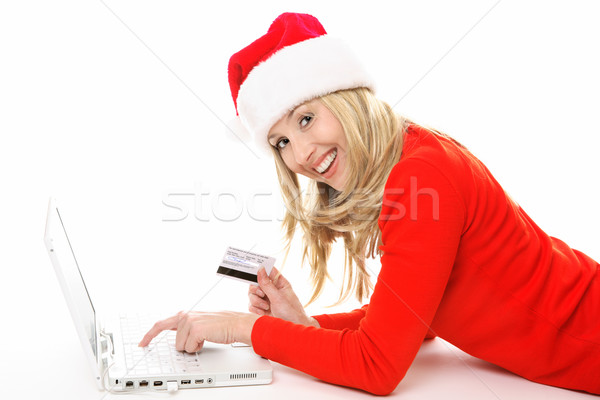 Shopping and banking online easy and secure Stock photo © lovleah