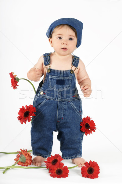 Stock photo: Flower Girl