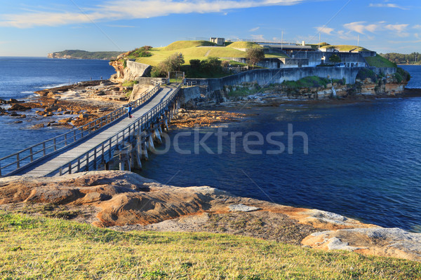 Bare Island, Sydney Australia Stock photo © lovleah
