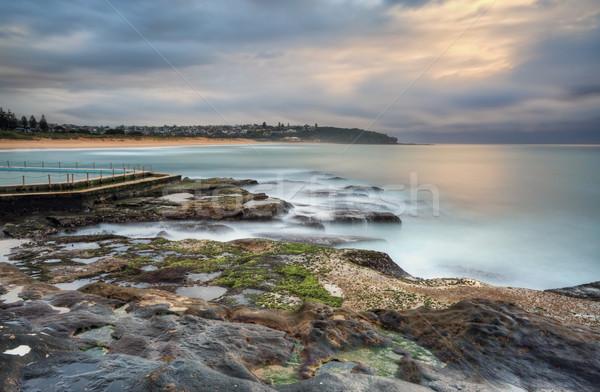 South Curl Curl seascape Stock photo © lovleah