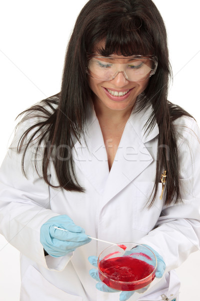Stock photo: Scientist at work