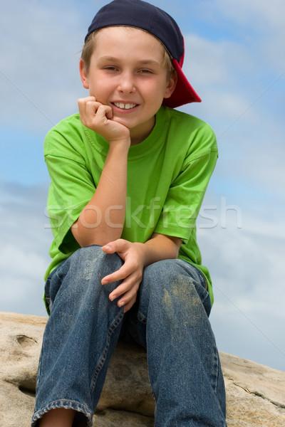 Happy Youth Stock photo © lovleah