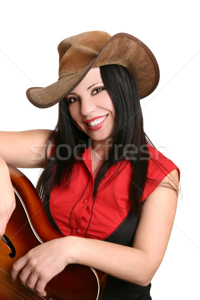 Smiling country girl Stock photo © lovleah
