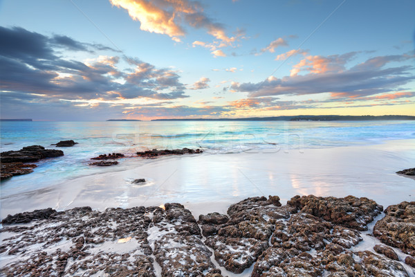 Dawn colours at Jervis Bay NSW Australia Stock photo © lovleah
