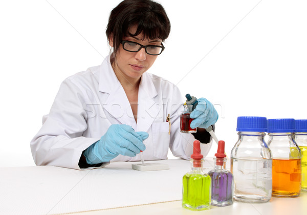 Clinical research Stock photo © lovleah