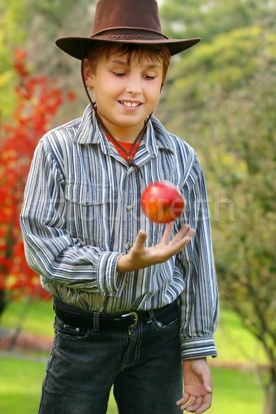Здоровый образ жизни мальчика Постоянный Сток-фото © lovleah