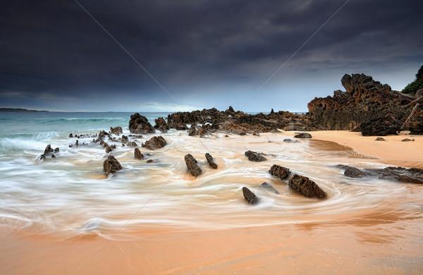 Jaws of Stone landscape seascape Stock photo © lovleah