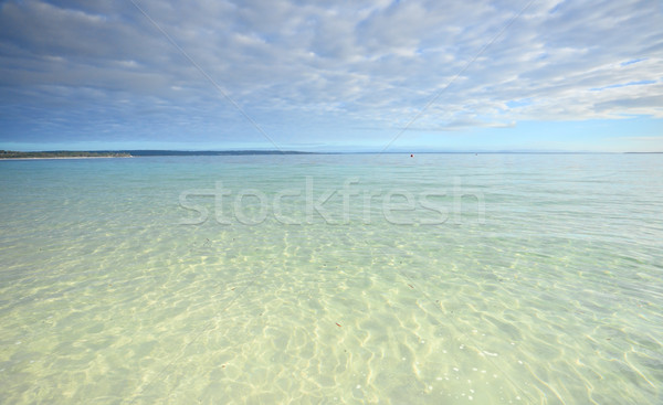 Crystal Clear waters of Jervis Bay Stock photo © lovleah