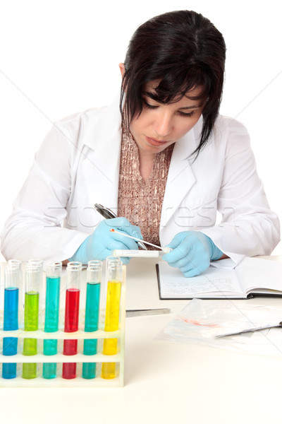 Scientific investigation Stock photo © lovleah