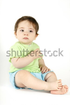 Baby Crying Tears Stock photo © lovleah