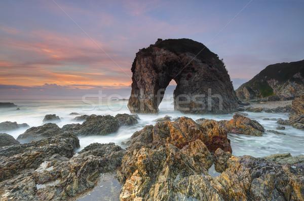 Horse Head Rock, Bermagui Australia Stock photo © lovleah