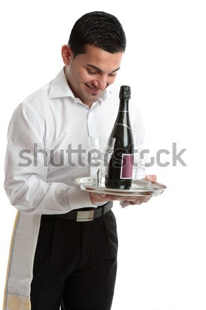 Man inspecting wine Stock photo © lovleah