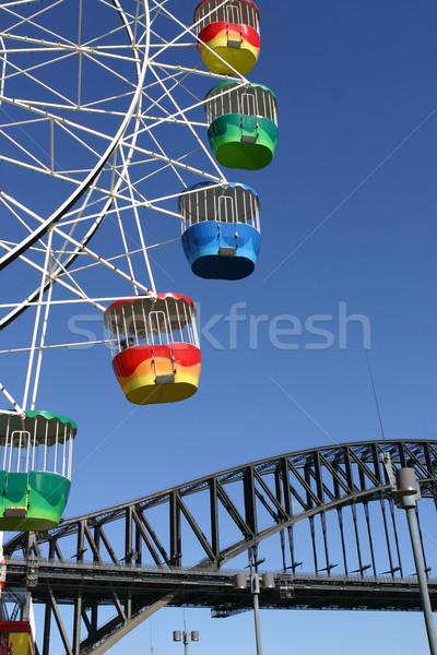 Sydney estilo de vida entretenimiento colorido puerto Foto stock © lovleah