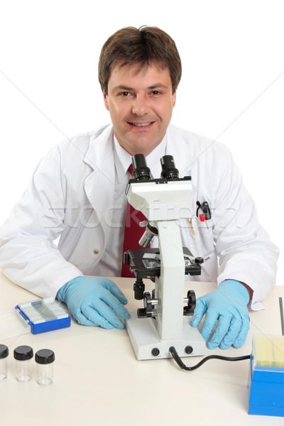 Scientist, laboratory researcher Stock photo © lovleah