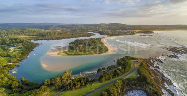 Point Australie panorama scénique panoramique Photo stock © lovleah