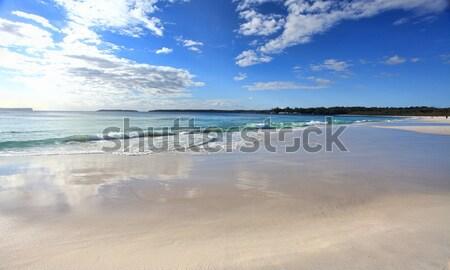 Beach reflections Stock photo © lovleah
