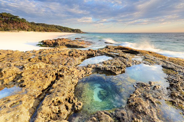 /beautiful beaches of Jervis Bay Stock photo © lovleah