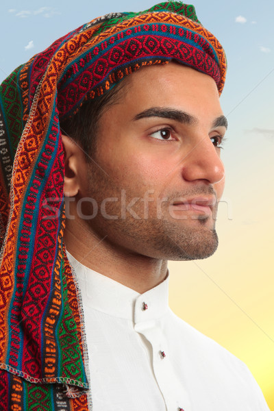 Arab man uit Stockfoto © lovleah