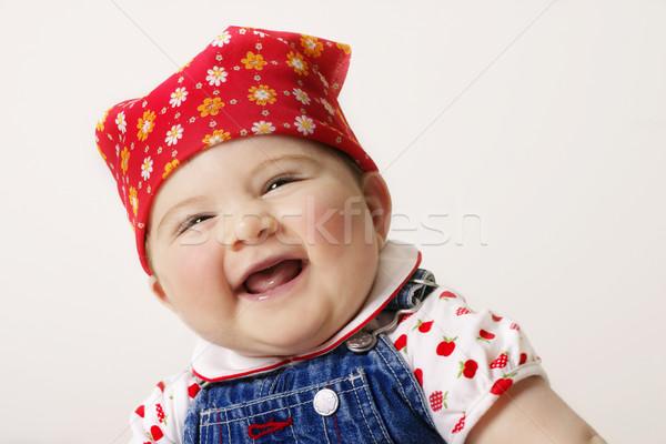 Happy baby Stock photo © lovleah