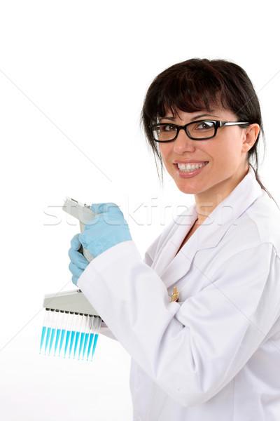 Laboratory worker Stock photo © lovleah