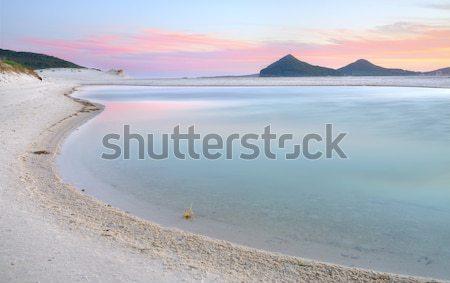 Winda Woppa Lagoon at sunset Stock photo © lovleah