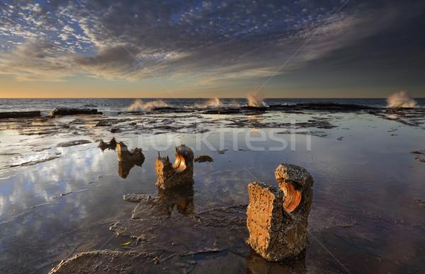 Coledale sunrise reflections Stock photo © lovleah
