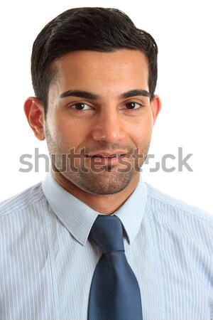 Smiling businessman professional occupation Stock photo © lovleah