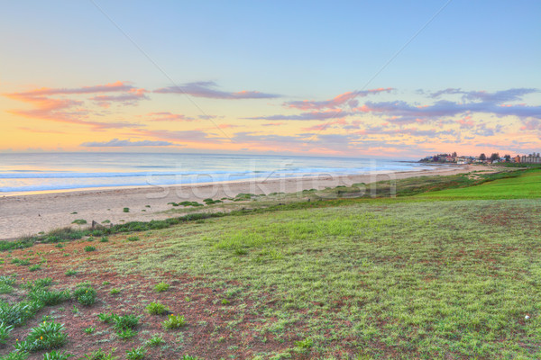север вход пляж Австралия глядя юг Сток-фото © lovleah