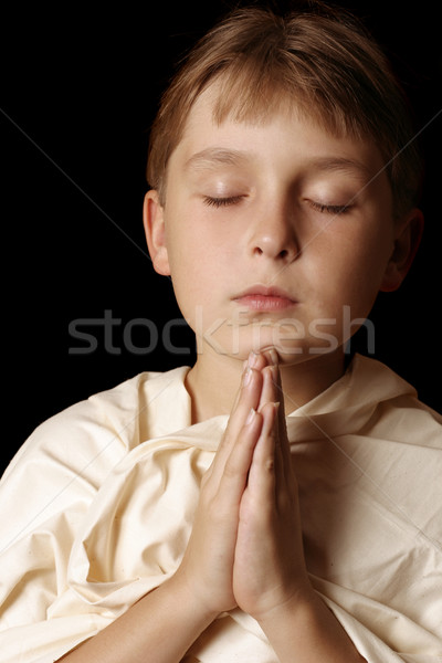 Child religious prayer Stock photo © lovleah