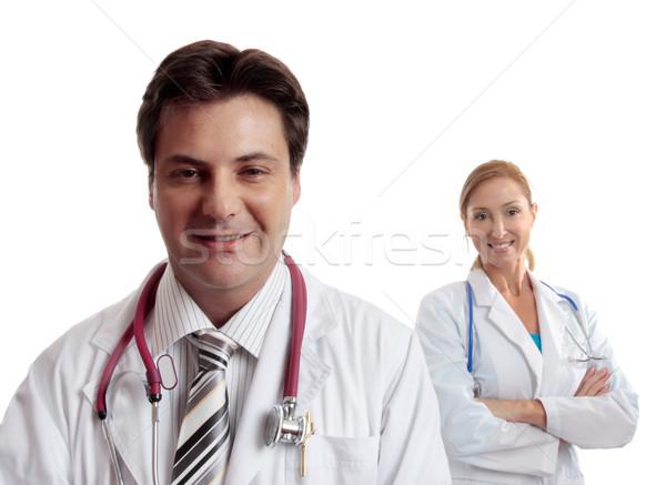 Healthcare doctors Stock photo © lovleah