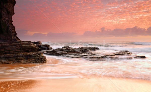 Sansasyonel gündoğumu sabah harika gökyüzü zengin Stok fotoğraf © lovleah
