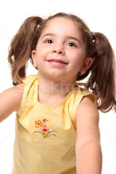 Pretty smiling toddler girl Stock photo © lovleah