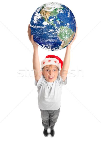 Celebrate Christmas around the World Stock photo © lovleah