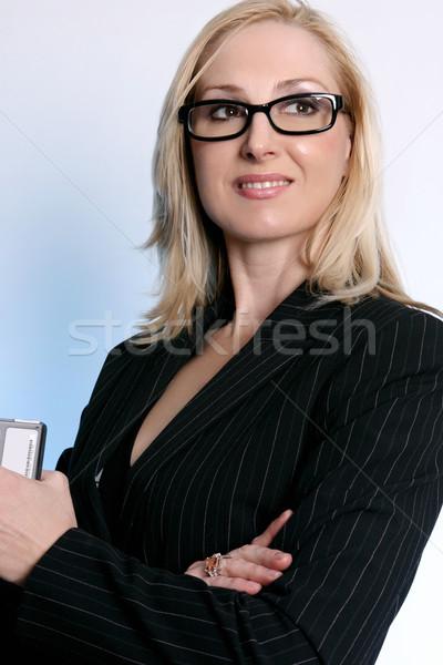 Confident Businesswoman Stock photo © lovleah