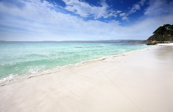 Beautiful beach in Jervis Bay, Australia Stock photo © lovleah