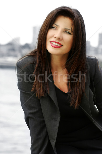 Business woman Stock photo © lovleah