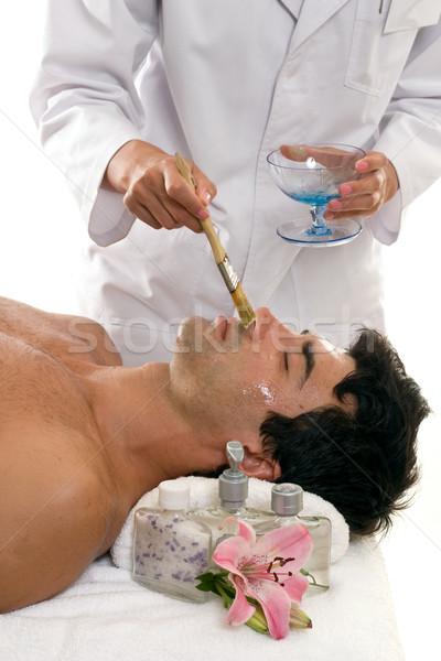Skincare Face mask Stock photo © lovleah