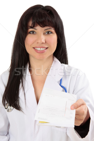 Doctor with prescription Stock photo © lovleah
