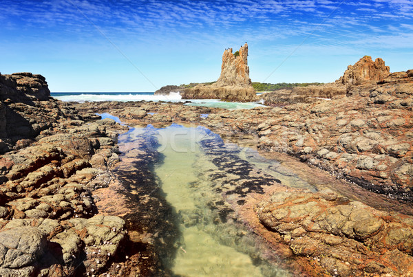 Cathedral Rock Kiama Stock photo © lovleah