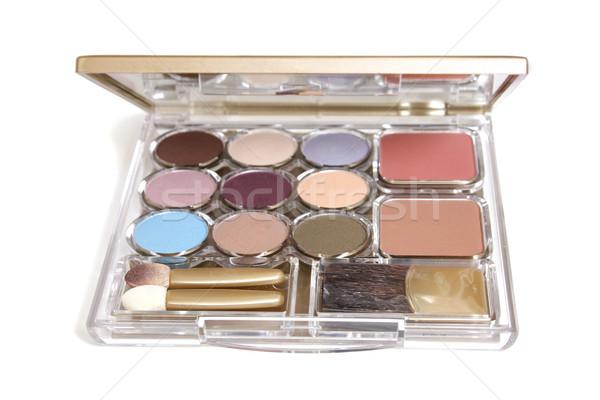 Cosmetic makeup beauty case Stock photo © lovleah