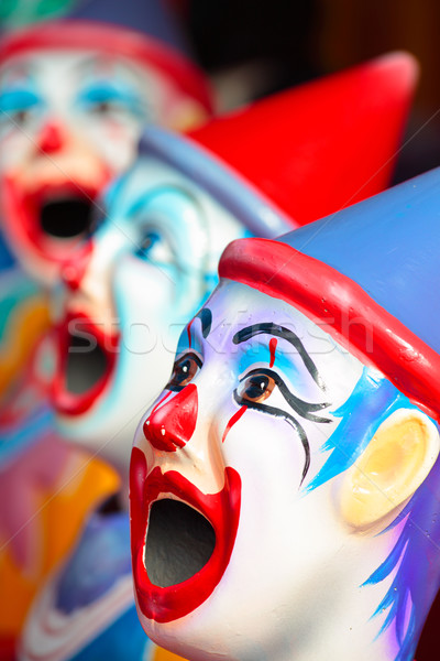Carnival clowns Stock photo © lovleah