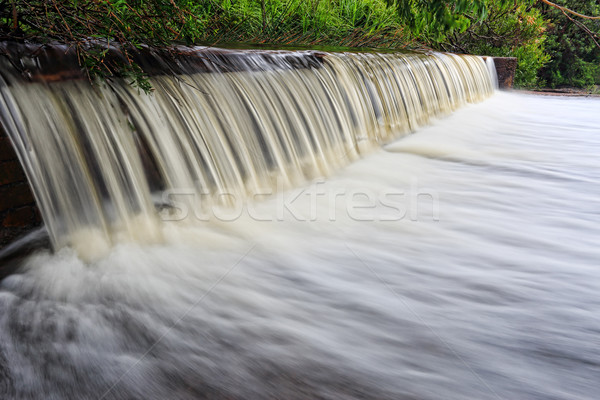 Stock photo: Coote Creek weir Wattamolla
