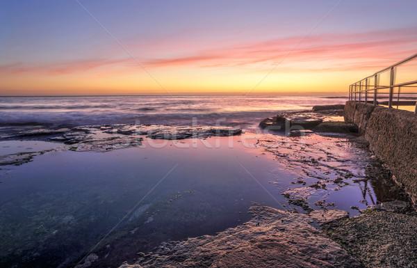 Sunrise at Wombarra Stock photo © lovleah