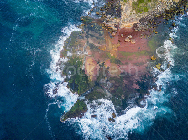 North Turimetta reef from above Stock photo © lovleah