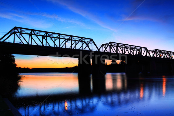 Victoria Bridge Penrith Australia Stock photo © lovleah