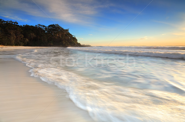 Lovely beach in early morning light Stock photo © lovleah