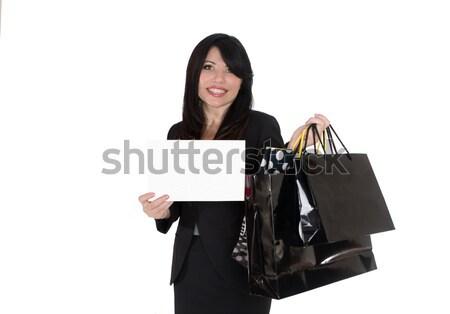 Boutique segno femminile Foto d'archivio © lovleah