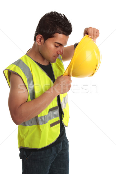 Builder construction worker Stock photo © lovleah