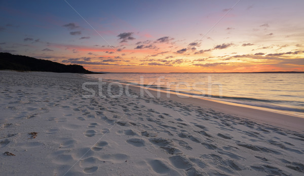 Chinamans Beach Jervis Bay Stock photo © lovleah