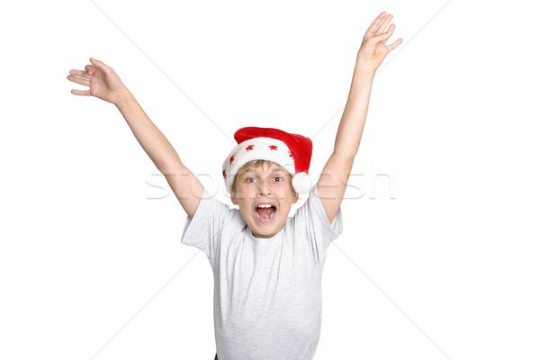 Hooray it's Christmas Stock photo © lovleah